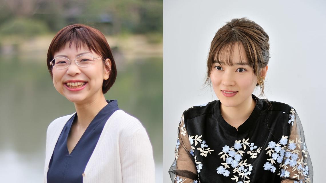 武田友紀さん(左、写真は本人提供)と大木亜希子さん