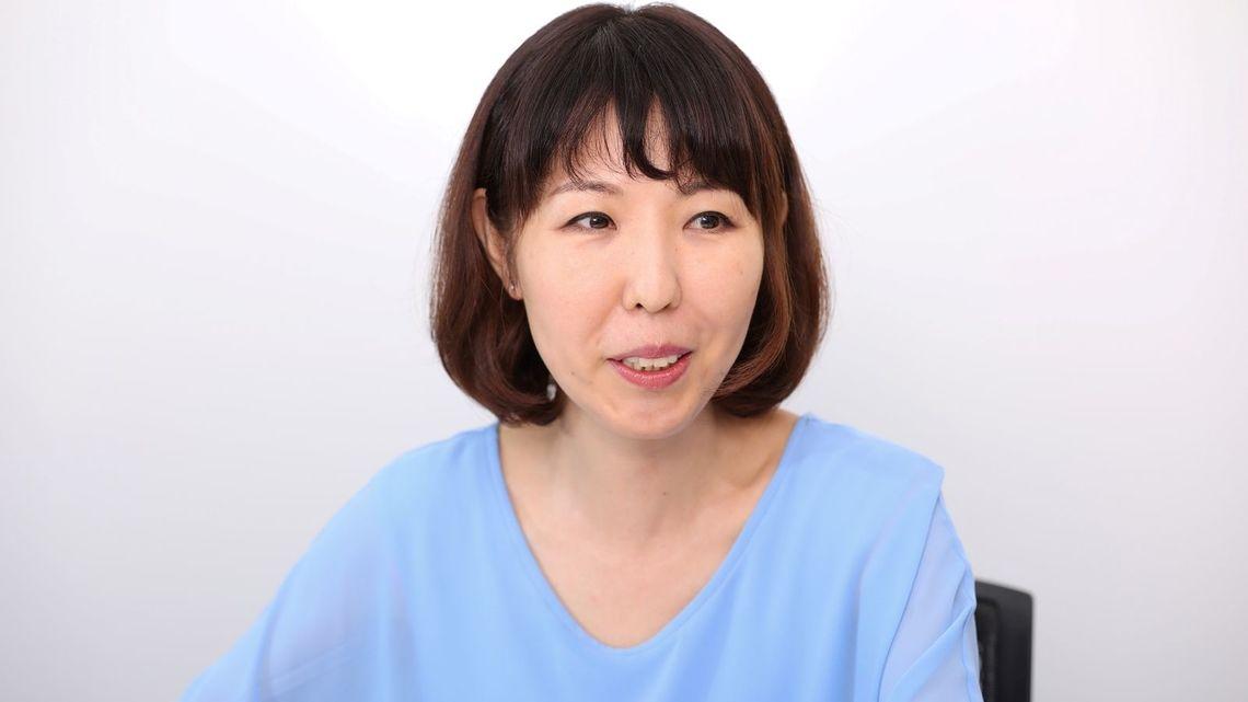 漫画家の菊池真理子さん