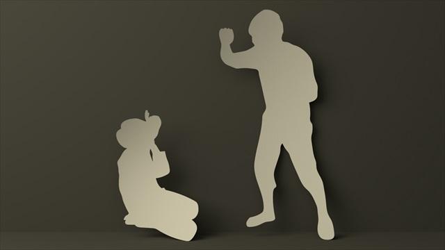 暴力を振るう画像